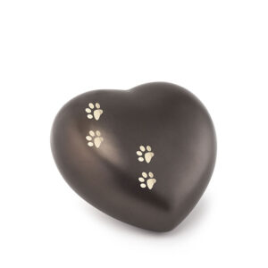 Tierurne Herzform Keramik