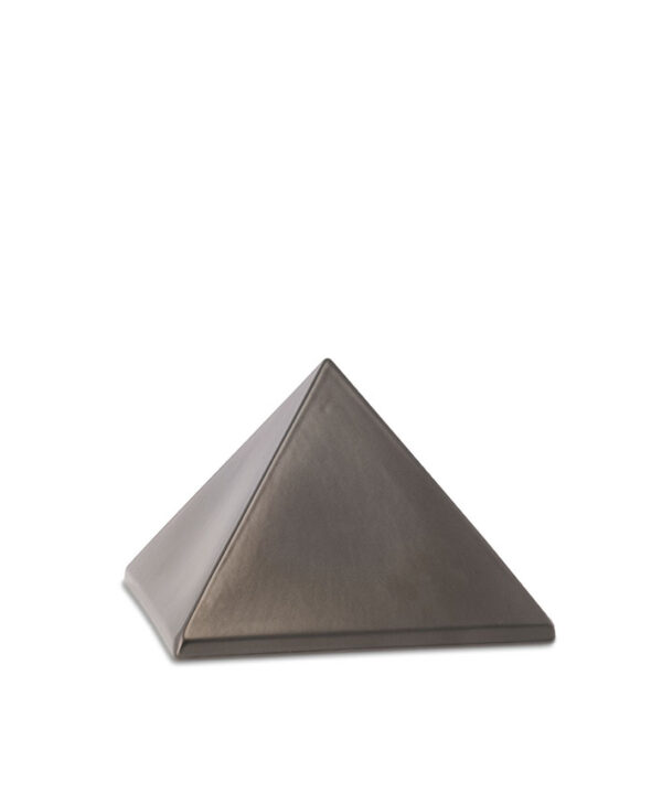 Keramikurne Pyramide chocolat