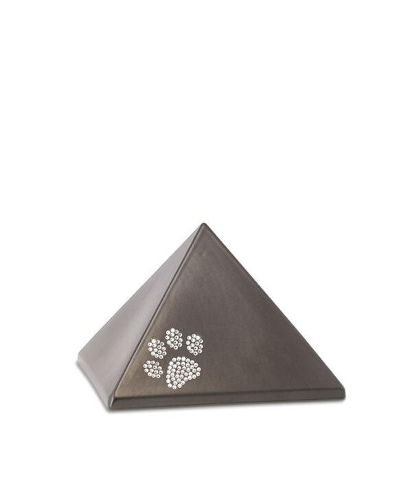 Tierurne Pyramide Keramik chocolat