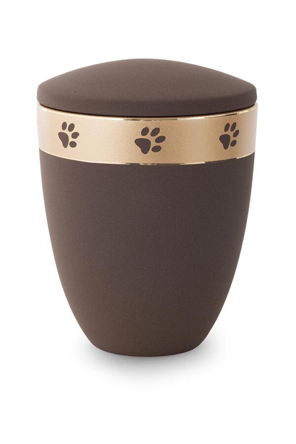 Keramikurne Edition Pata de oro café